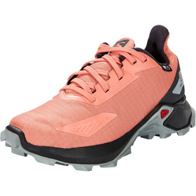 Salomon Alphacross Blast CSWP Shoes Kids burnt coral/ebony/quarry